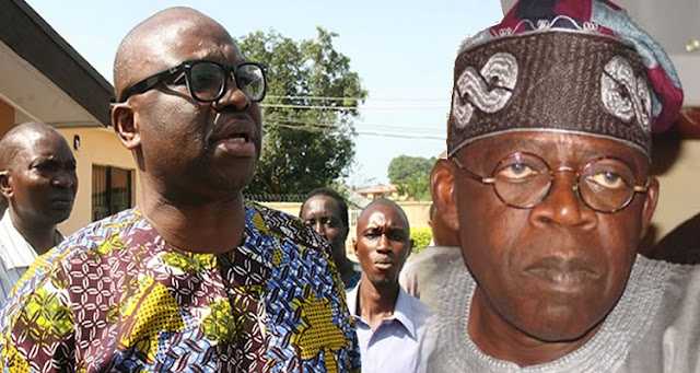 APC's humiliation of Tinubu is dishonour to Yoruba race - Gov Fayose