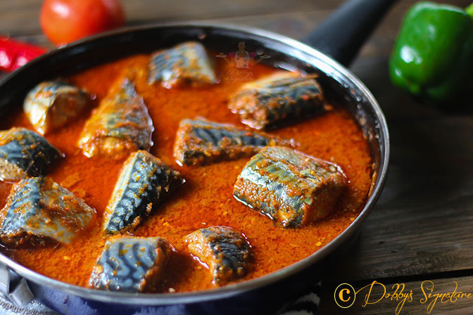 Mackerel Titus Stew