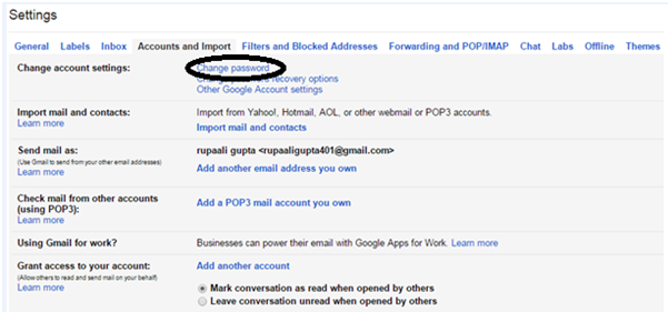 How To Change Gmail Password (With Screenshots