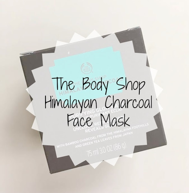 The Body Shop Himalayan Charcoal Face Mask Review