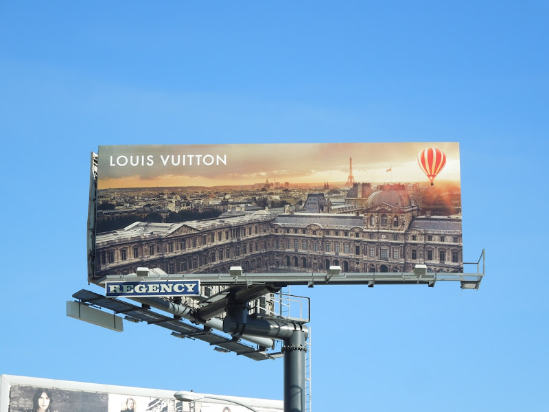 Louis Vuitton Winter 2012 billboard