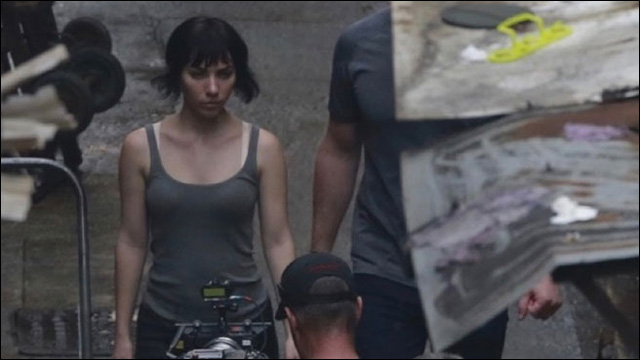 New Photos From The Set Of Ghost In The Shell
