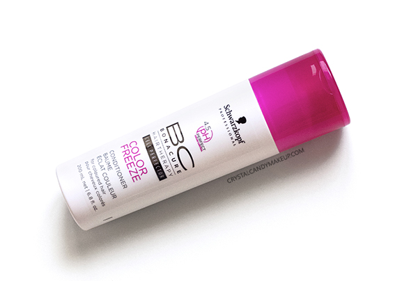 Schwarzkopf Professional BC Color Freeze Conditioner Review