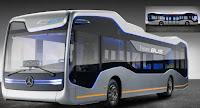 Yeni Mercedes Benz otonom otobüs