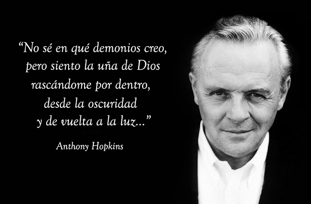 Anthony Hopkins creyente