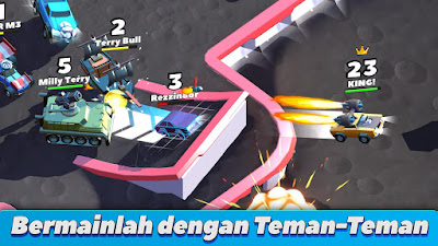 Tampilan Game Crash of Cars