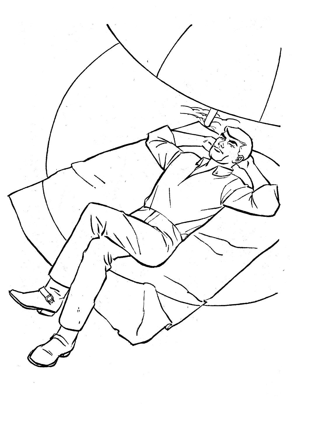 Desenhos para Colorir: Jonny Quest