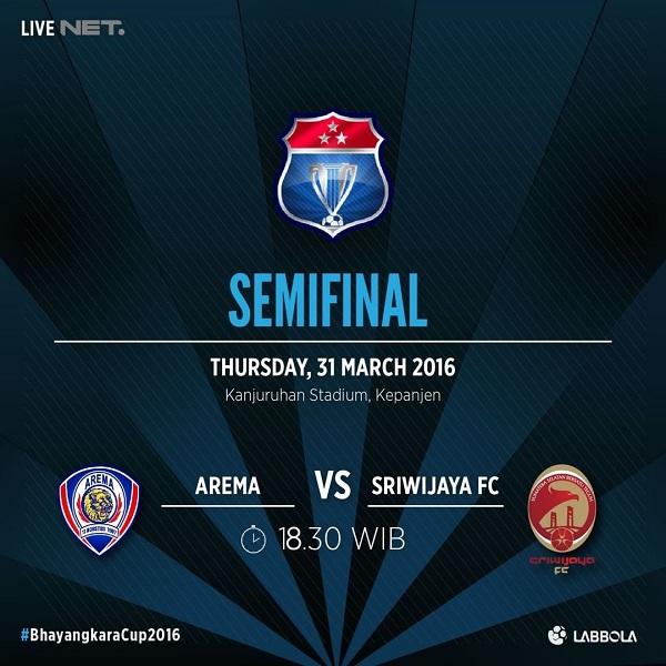 Jadwal Arema vs Sriwjiaya FC