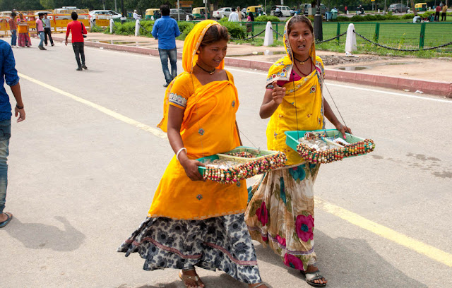 Vendedoras Puerta de la India