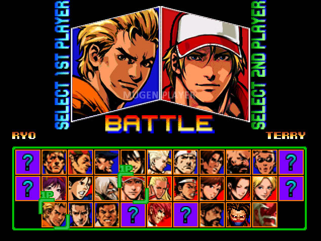 The king of fighters mugen 2015 | The King of Fighters '94 / '95