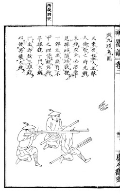Ming Chinese Matchlock Wall Gun