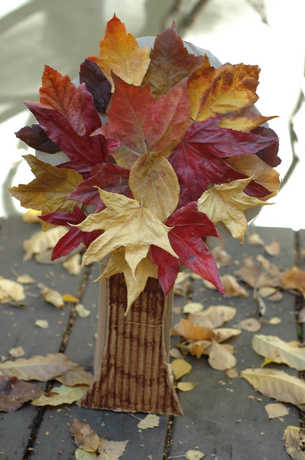 pinterest fall crafts nogginmama gift trees 2694