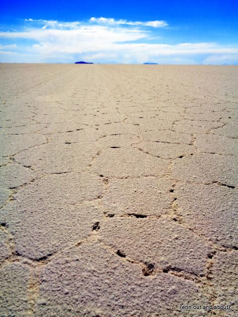 {ErinOutandAbout} Visit Bolivia: Salt Flats