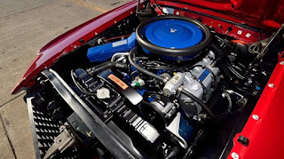 1969 Ford Mustang Boss 429 Engine 02