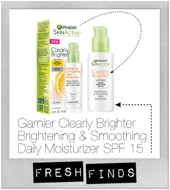 Garnier, beauty, Clearly Brighter, brightening, smoothing, daily, moisturizer, SPF, Vitamin E, Vitamin C, pine bark essence, Lipo-Hydroxyl Acid, Allure, Beauty Enthusiasts, magazine, oily skin, skin care