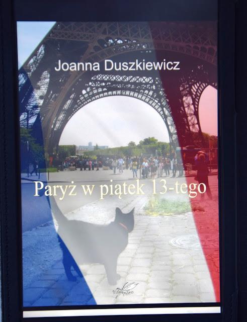 """Recenzje #37 - """"Paryż w piątek 13-go"""" + konkurs - nagłówek - Francuski przy kawie"""
