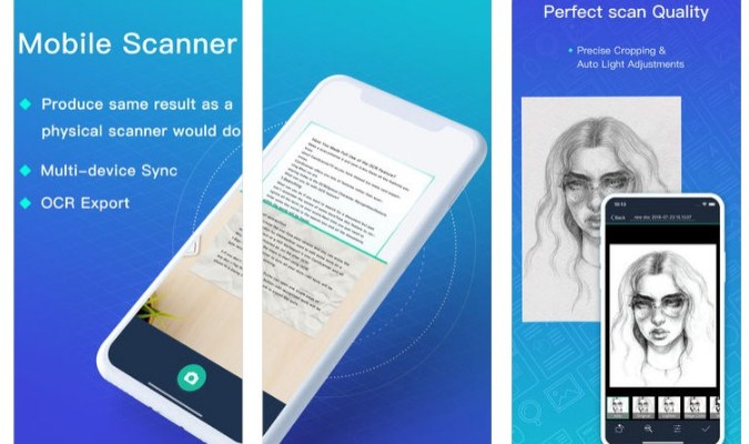 Aplikasi iPhone - CamScanner