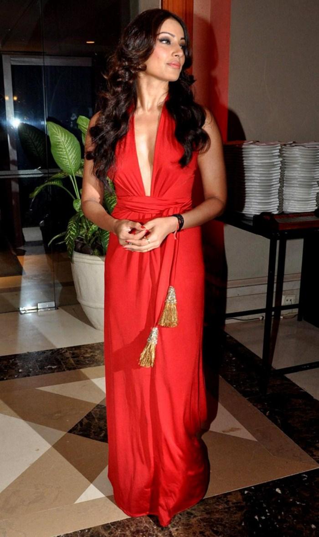 Bipasha Basu Latest Stills In Red Dress