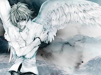 Anime angel boy wallpaper see to world - Anime wallpaper angel ...