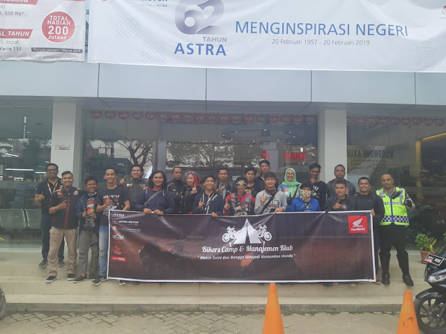 Astra Motor Sumsel Gelar Bikers Camp dan MCHC