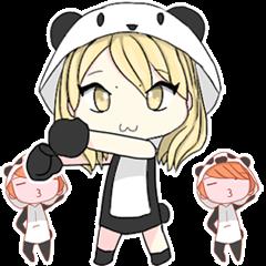 Dudut Kawaii panda