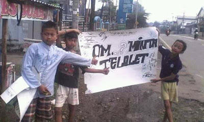 gambar / foto Om telolet om