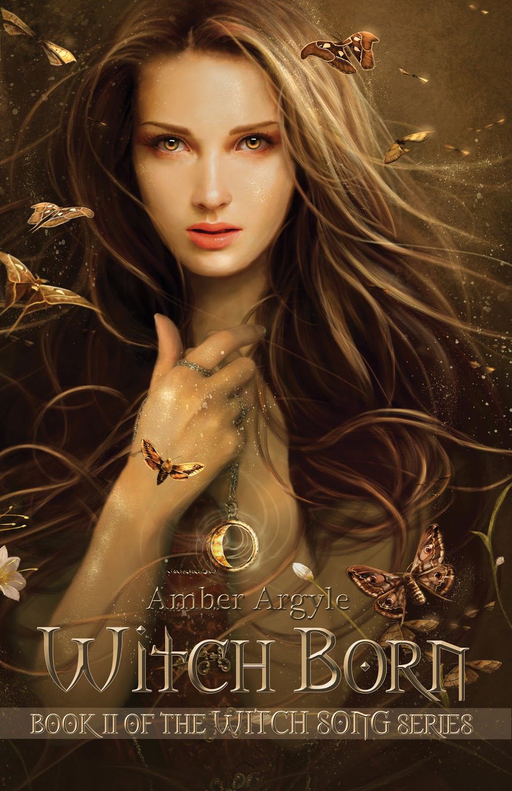 Cover Art for Witch Born by Amber Argyle