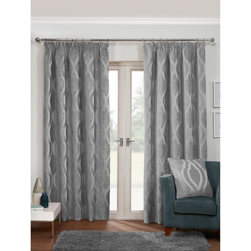 Lined Curtains How To Make Tutorial Door Faux Silk Grommet
