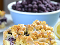 Blueberry Cheesecake Crumb Cake
