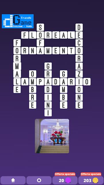 Soluzioni One Clue Crossword livello 23 schemi 6 (Cruciverba illustrato)  | Parole e foto