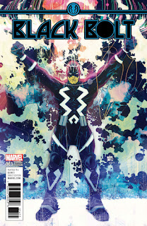 Black Bolt #1 - Pope Variant
