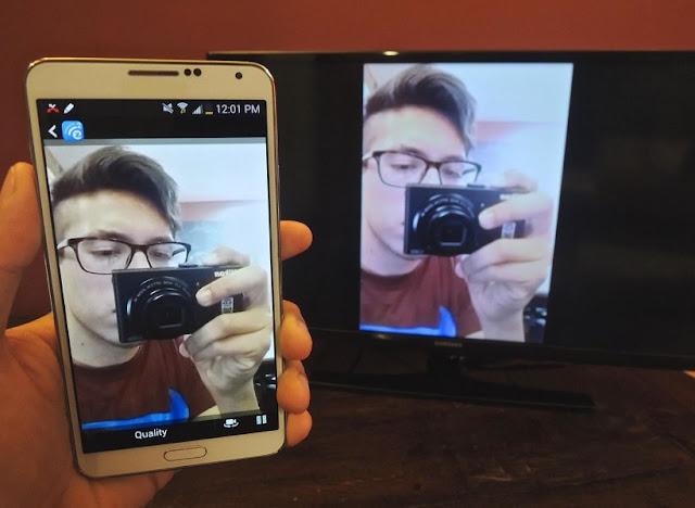 تحميل تطبيق مشاركة الشاشة علي التلفاز الذكي Screen Mirroring APK بدون كابلات