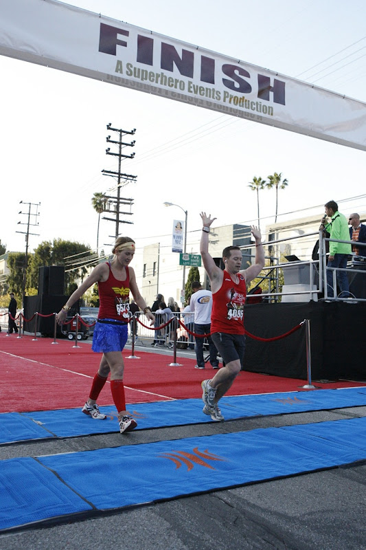 Hollywood Half Marathon Finish Line