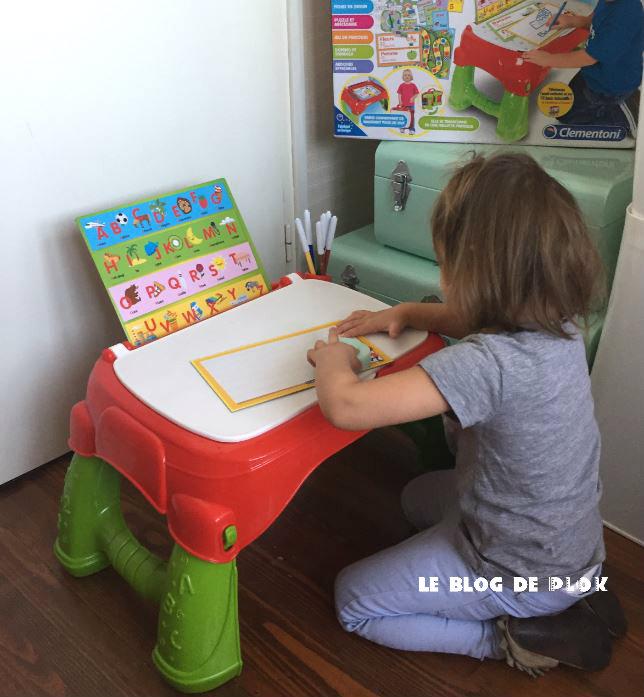Le Blog De Plok Jouet Sa Table De Maternelle Clementoni
