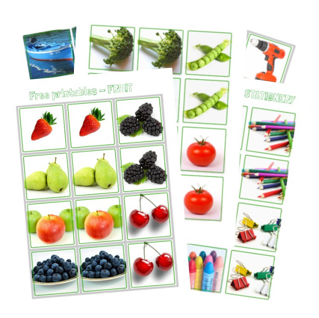 Free Printables Series For Kids – Memory Game