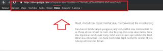 Tutorial Lengkap Cara Mengatasi Limit Download Google drive dengan Mudah dan cepat