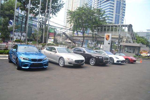 Bengkel Porsche, Maserati, Rolls Royce, Mazda, BMW