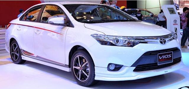 Lộ diện phiên bản Toyota Vios TRD cải tiến từ Vios G ảnh 1