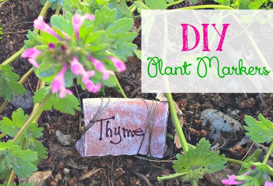 DIY Garden markers you can make from things you have lying around the house
