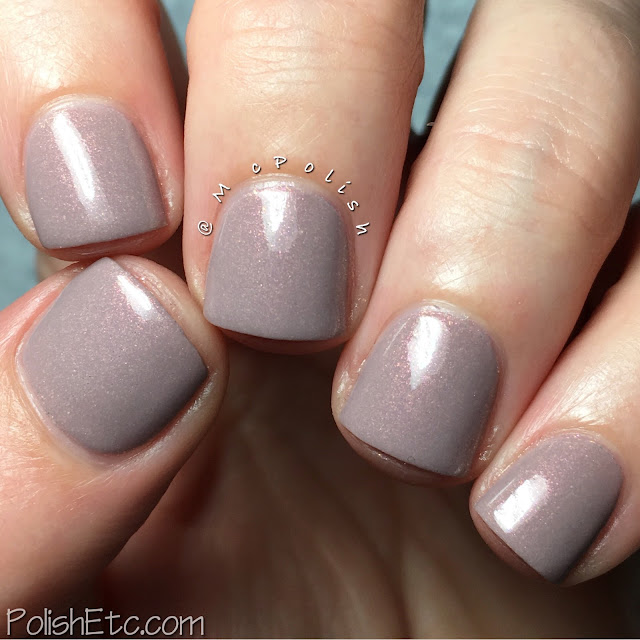Pahlish May 2016 shimmers - McPolish - Monte d'Or