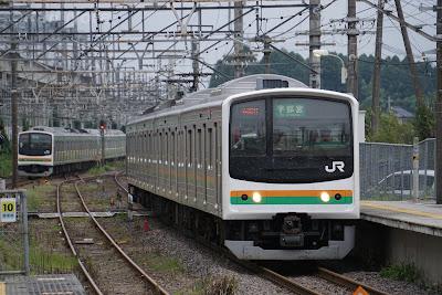 宇都宮線を走る205系600番台