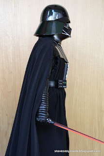 hot toys darth vader right side