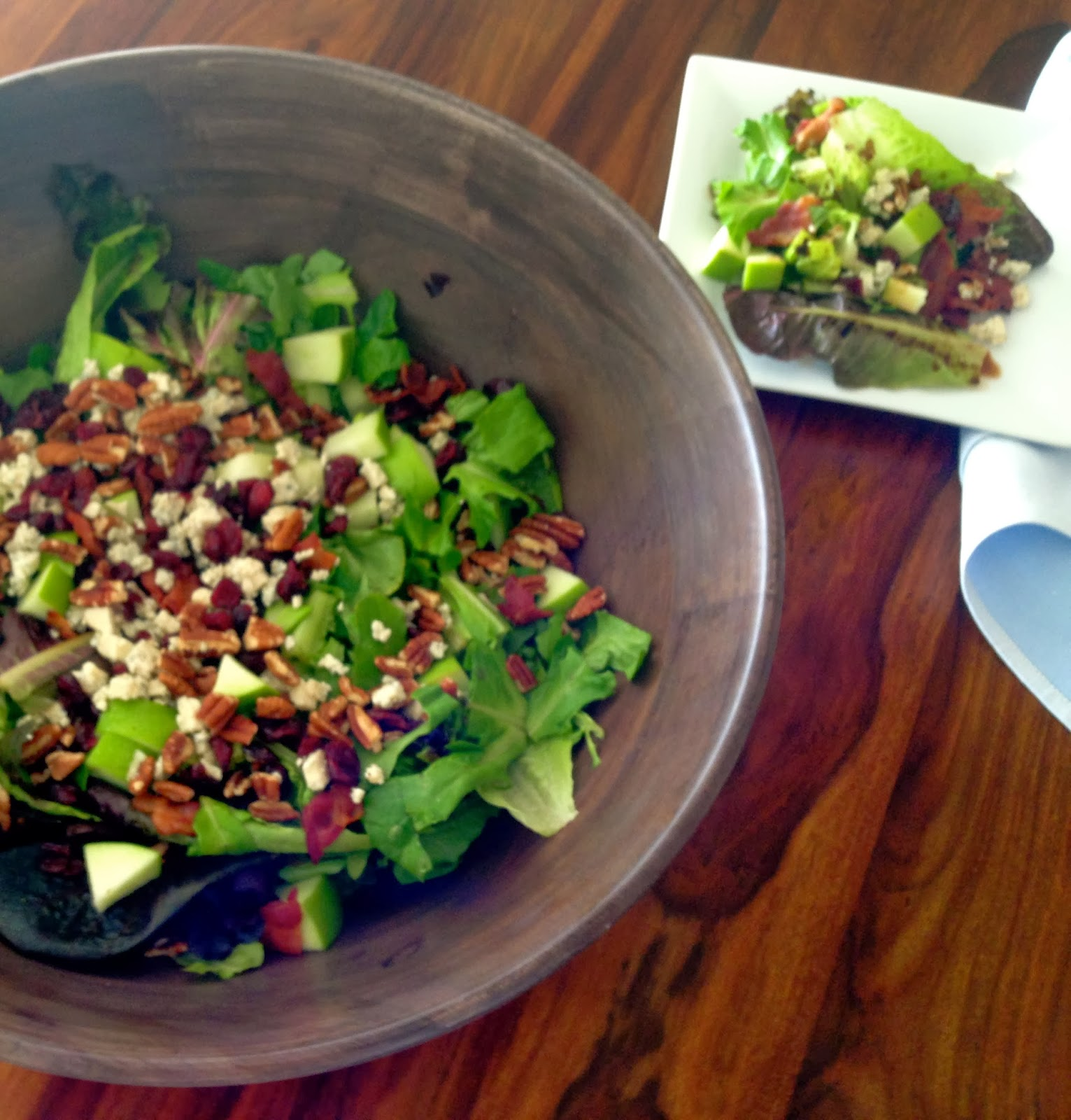 The Preppy Hostess : New England Autumn Salad With Sweet