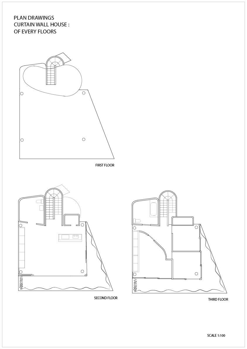 Shigeru ban curtain wall house analyse glif org
