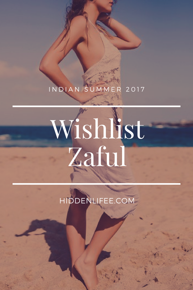Indian Summer 2017 : Wishlist Zaful