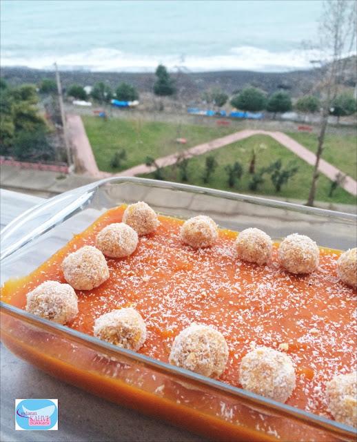 Bisküvili Bal kabağı Tatlısı