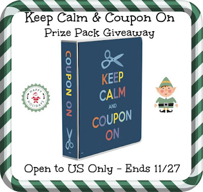 Enter the Keep Calm & Coupon On Giveaway. Ends 11/27