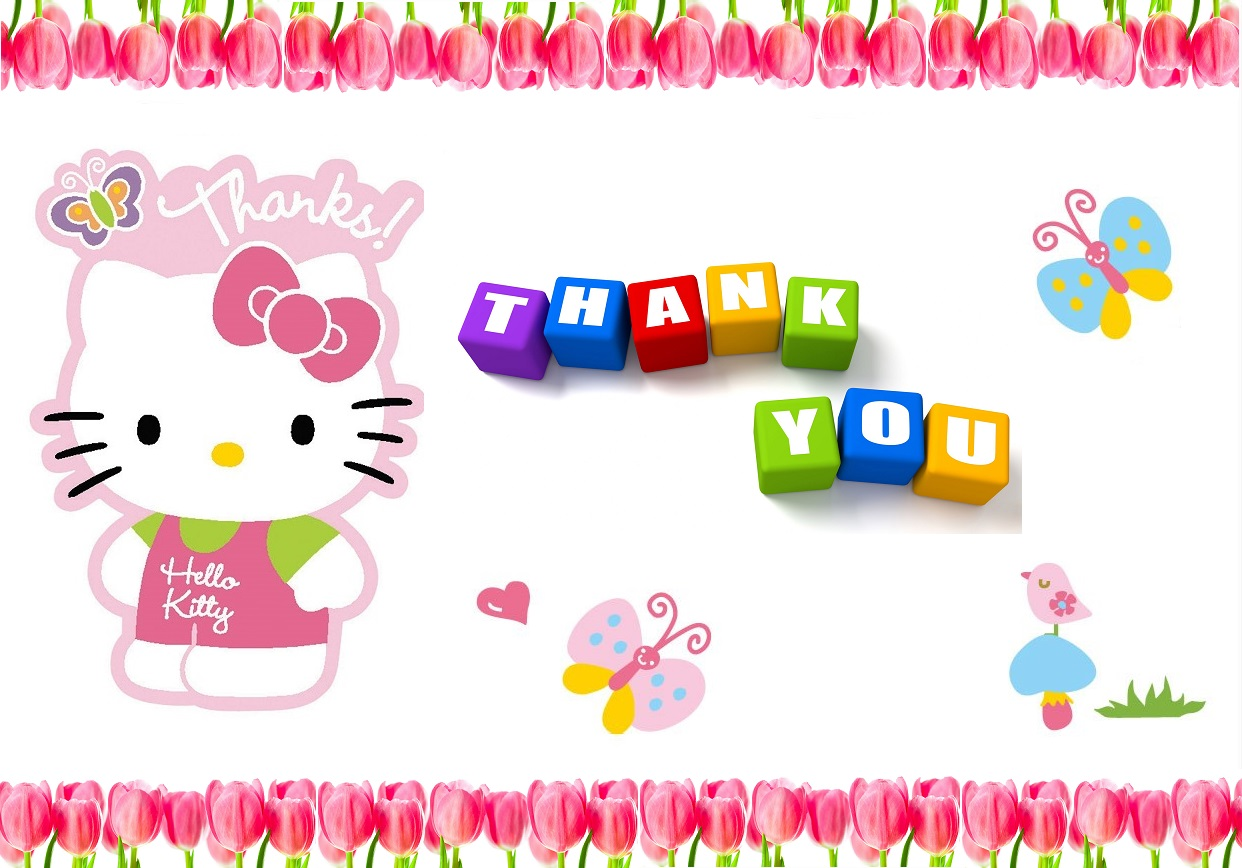Hello Kitty Thank You Images