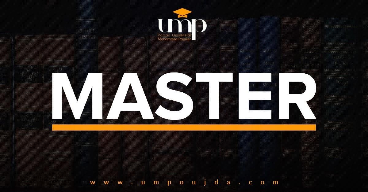 """FSJES Oujda : Liste de présélection """"Master Gestion Financière et Fiscale"""" 2018/2019"""