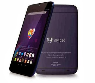 MyPhone Tablet: MyPad 4 is powered by Quad core process and 8MP Camera